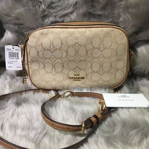 new Coach signature crossbody